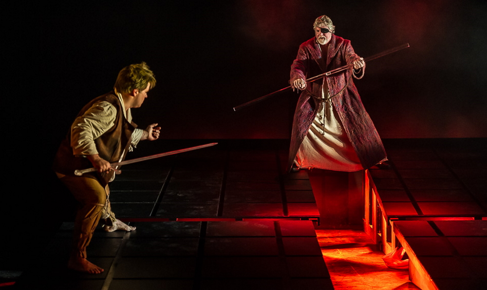 Photo of Daniel Brenna & Phillip Joll in Siegfried